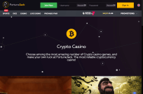 Choose among the best crypto casino games at FortuneJack